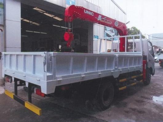 xe tải hino xzu lắp cẩu unic urv345