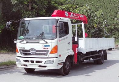 xe tải hino fc gắn cẩu unic 3 tấn 3 đốt