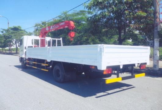 xe tải hino FC 6 tấn 4 gắn cẩu unic URV344