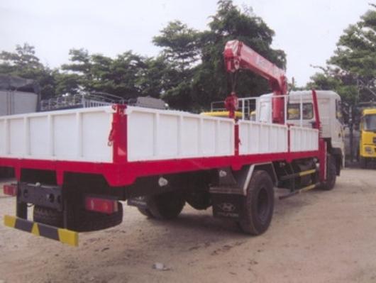 xe tải dongfeng 8 tấn lắp cẩu unic