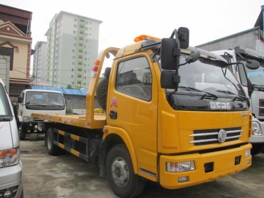 hình ảnh xe cứu hộ sàn trượt dongfeng 3,5 tấn nhập khẩu