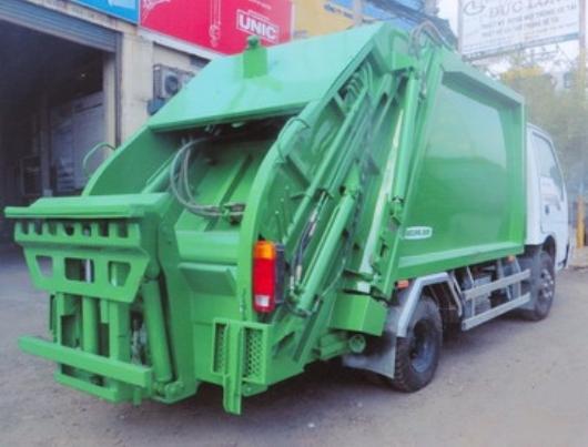 càng gắp đa năng xe ép rác 3 khối