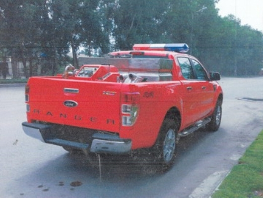 xe cứu hỏa ford ranger