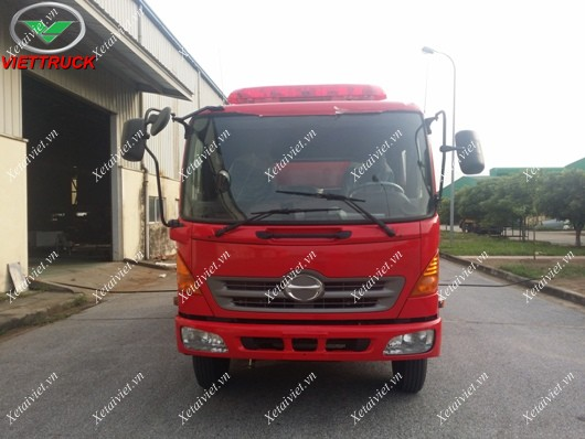 xe cứu hỏa hino fc