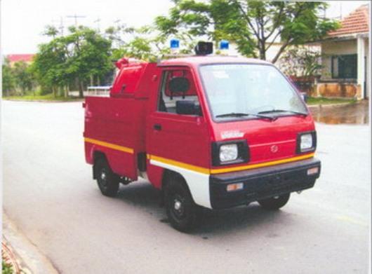 xe chữa cháy isuzu
