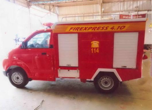 xe cứu hỏa mini