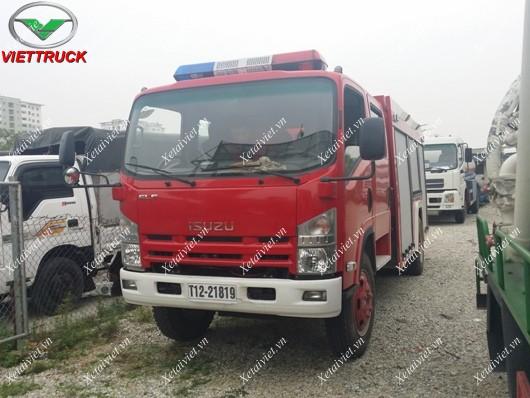 xe chữa cháy isuzu 5m3
