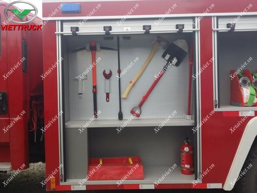 dụng cụ đi kèm xe cứu hỏa