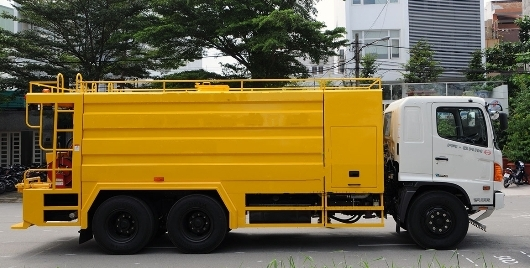 xe thông tác cống bồn 12,5 khối