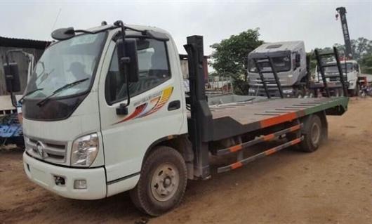 xe nâng đầu chở máy công trình thaco ollin 700B