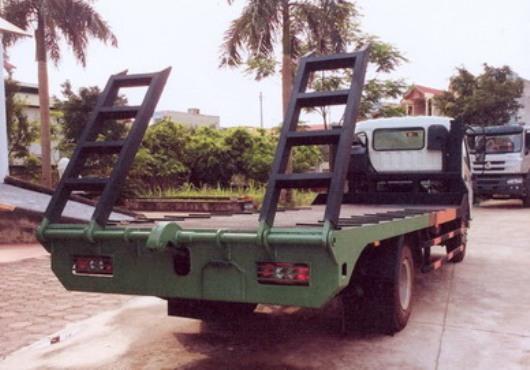xe nâng đầu chở máy công trình