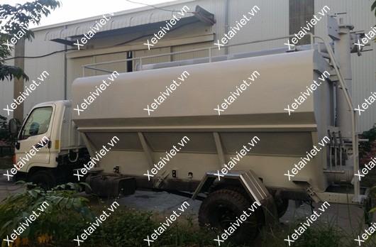 xe chở cám hyundai 10 khối